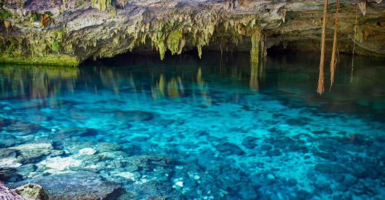 Cenote Dos Ojos en Quintana Roo