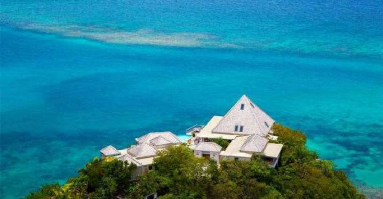 Katitche Point Greathouse, en el Caribe