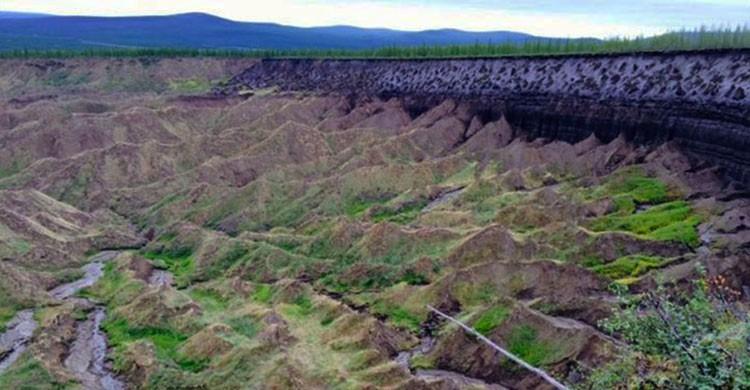 Cráter Batagaika