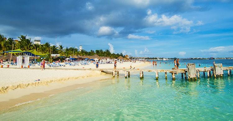 beautiful isla Mujeres Mexico