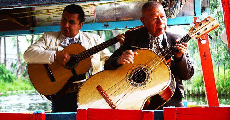 Xochimilco-mariachis