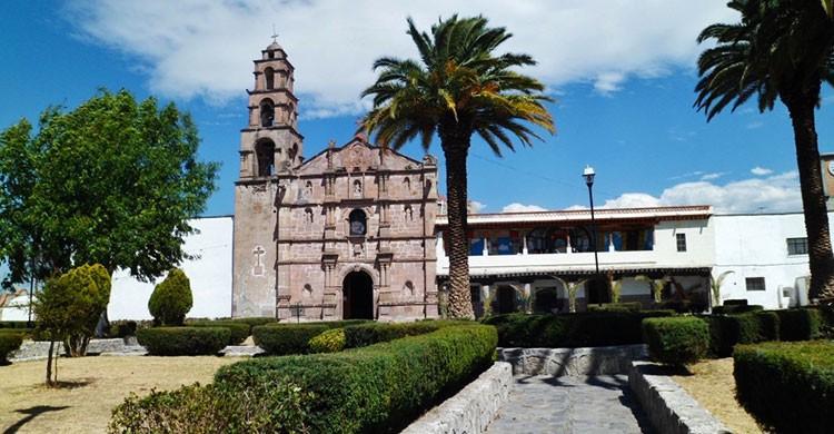 Parroquia y ex Convento San Jeronimo,Aculco,Estado de México
