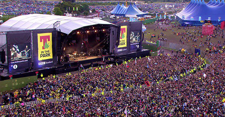 T in The Park, Escocia