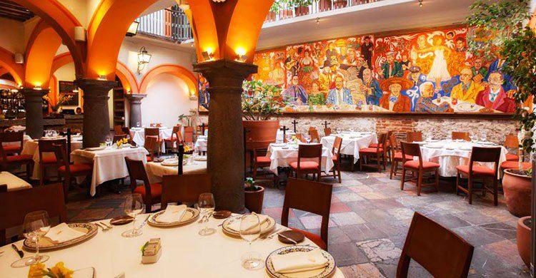 Restaurante El mural de los poblanos, Puebla