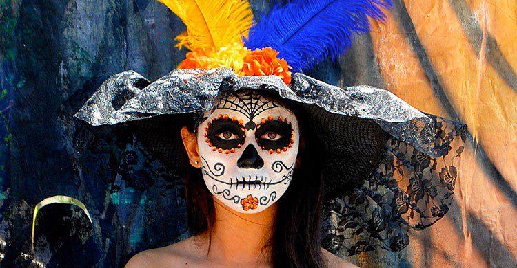 Flickr-Catrina con plumas-Rulo Luna Ramos