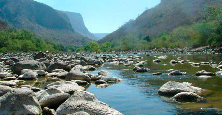 Paisaje, barranca Huentitán