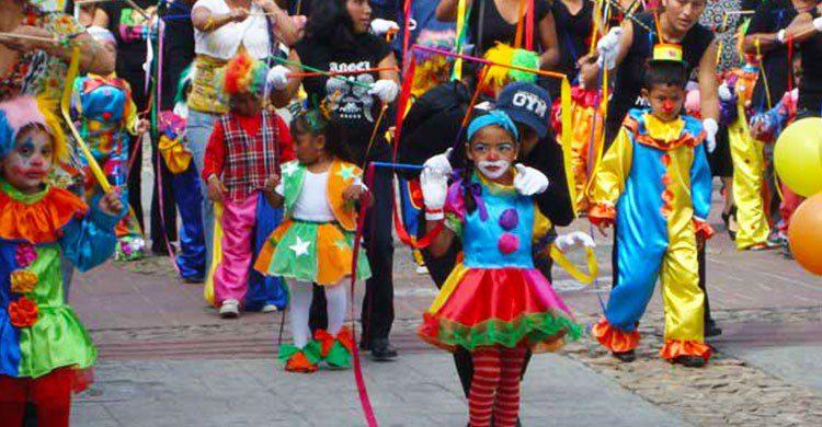 Disfraces del carnaval