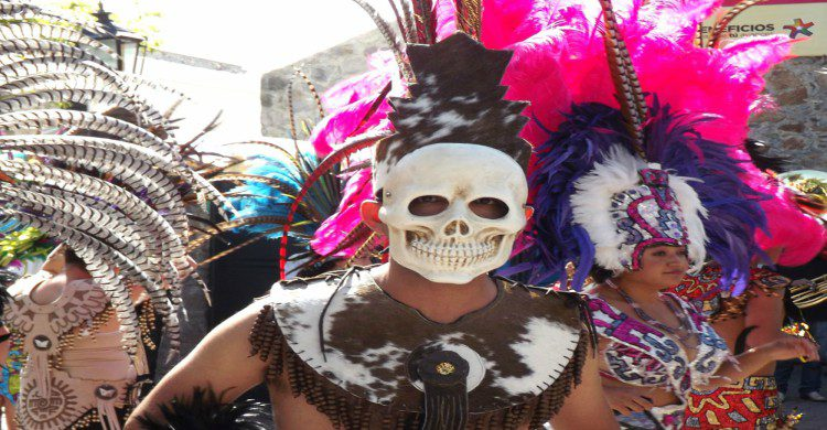 Mekos durante carnaval