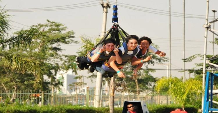 Parque de divertido