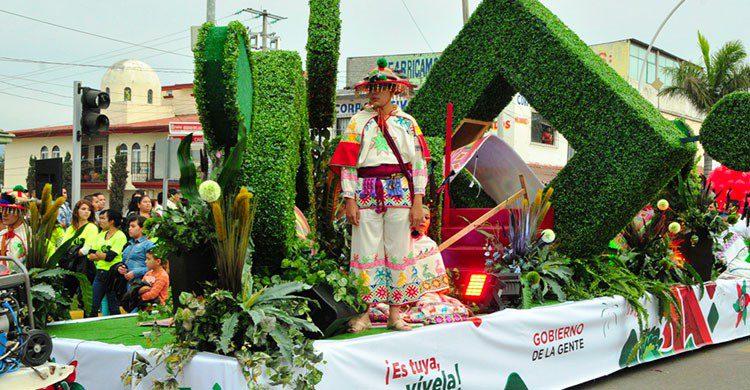 Desfile de la feria de Nayarit