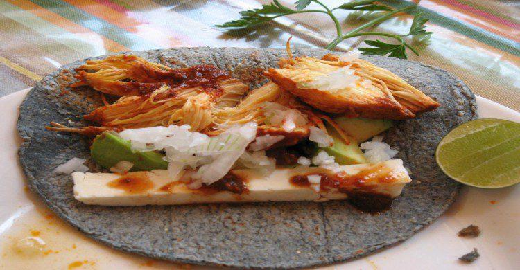 Tacos de Mixiotes