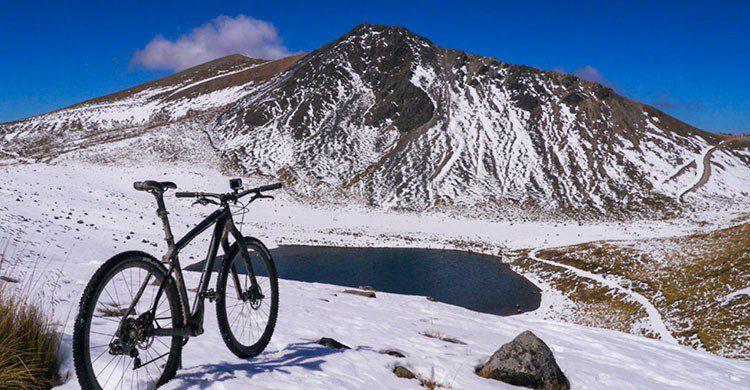 Nevado de Toluca paseo en bici
