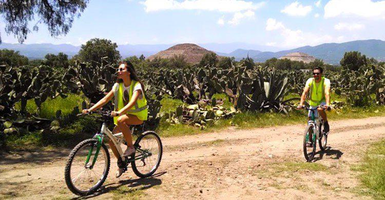 Paseo en teotihuacán
