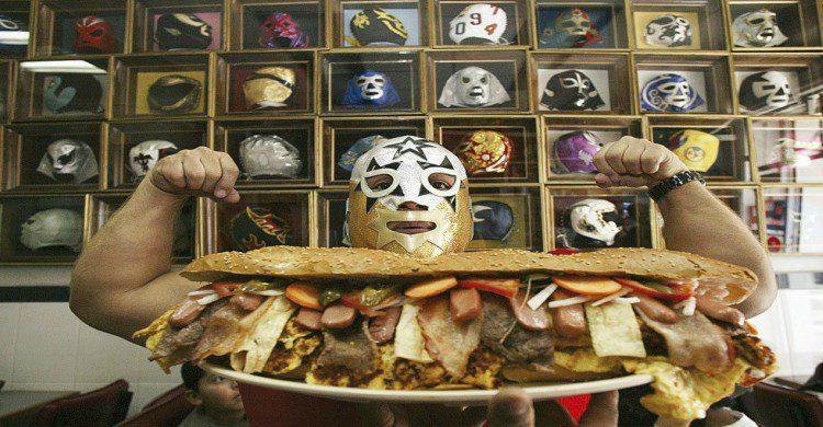 Reto gladiador tortas lcuhadores