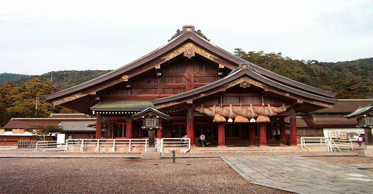 Izumo shrine Haiden