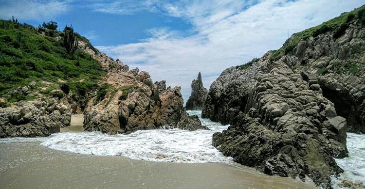 Maruata sol, mar y playa