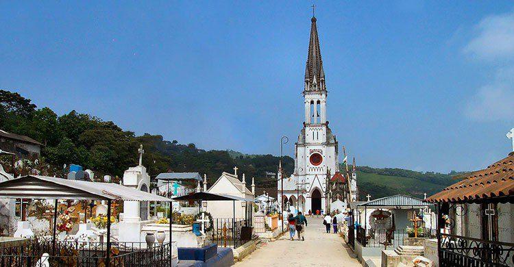iglesia de Cuetzalan