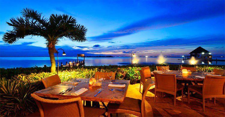 Imagen de un restaurante en Cancún