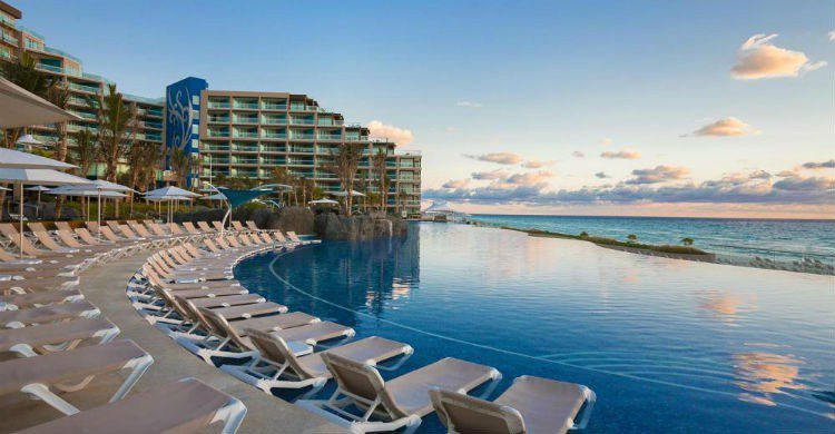 Imagen de un hotel en Cancún