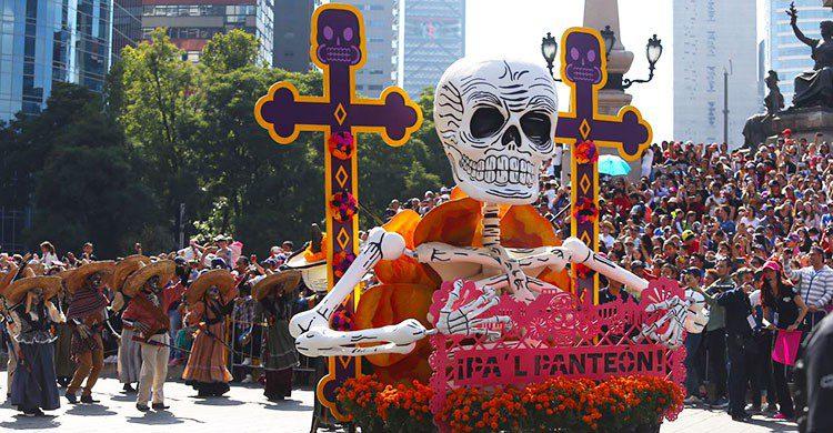 Desfile de muertos.