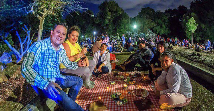 picnic en chapultepec