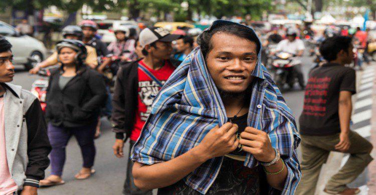 Joven de Indonesia