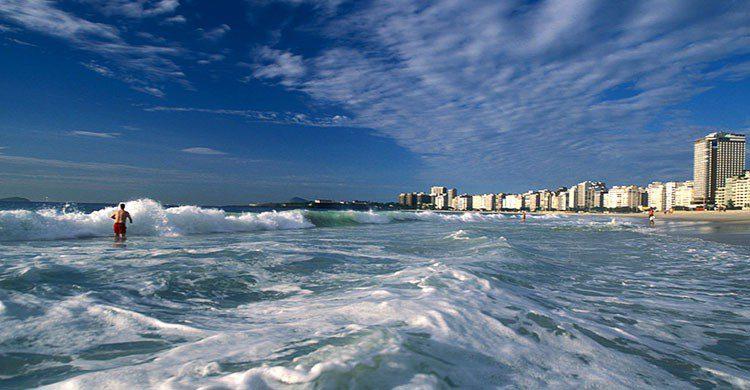 Espectacular playa brasileña.