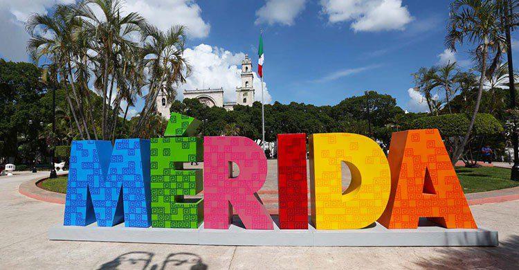 Ciudad de Mérida en Yucatán.