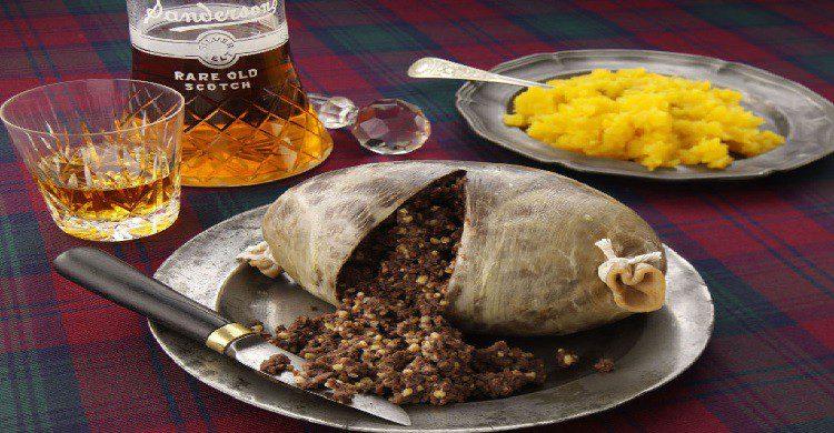 Gastronomía Escocia