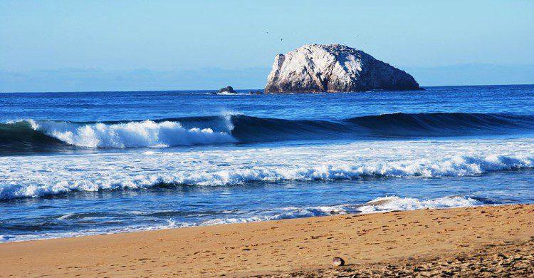 playas súper guapas