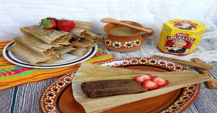 Tamales exóticos