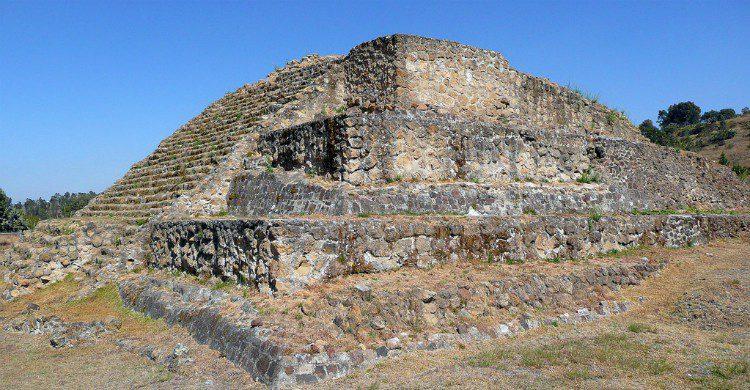 Zona arqueolgica de Cacaxtla