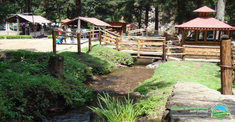 Parque ecoturístico Dos Aguas, Santuario Natural