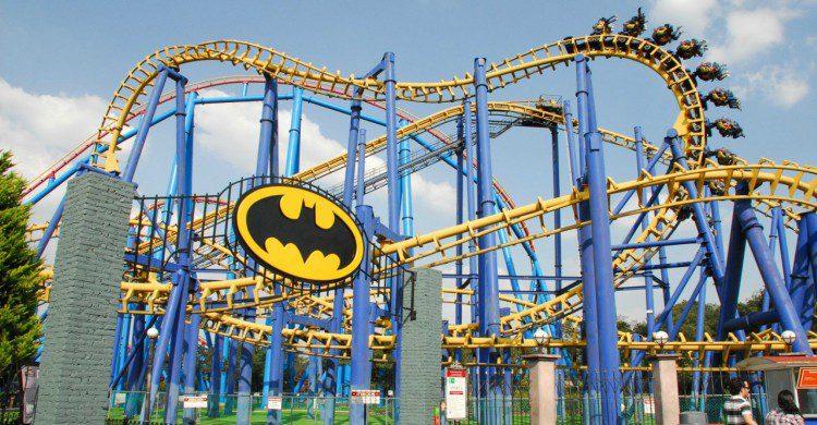Batman, Six Flags Ciudad de México de día