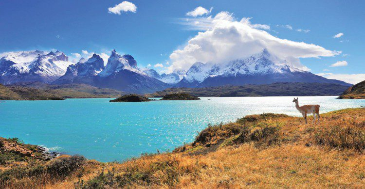 Paisaje montañoso de Chile