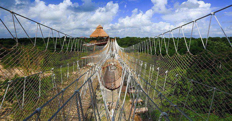 Parque de atracciones en Quintana Roo.
