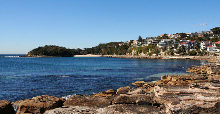 Espectacular paisaje australiano.