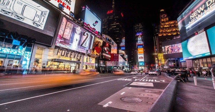 Times Square, Nueva York de noche
