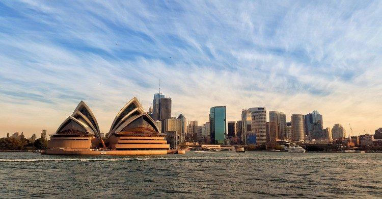 Sidney Australia al atardecer