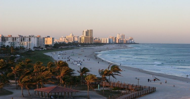 Miami Beach de día