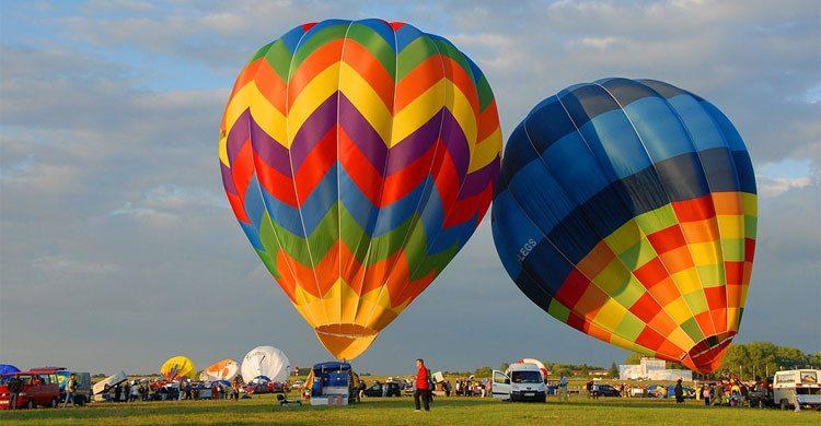 vuelo en globos aerostáticos
