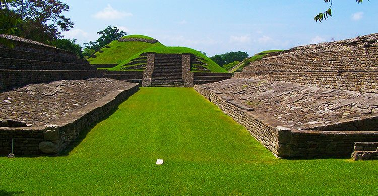 Zona arqueológica mexicana.